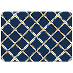 "Bungalow Premium Comfort Nautical Rope Lattice 22""x31"" Mat, , large"