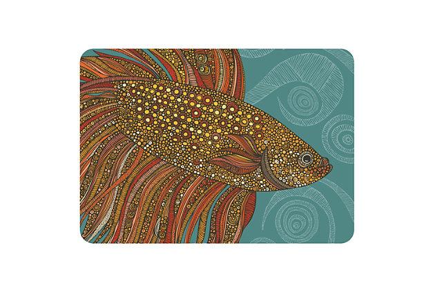 """Bungalow Premium Comfort Valentina Beta Fish 22""""x31"""" Mat, , large"""
