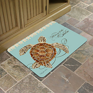 """Bungalow Premium Comfort Welcome to the Shore 22""""x31"""" Mat, , rollover"""