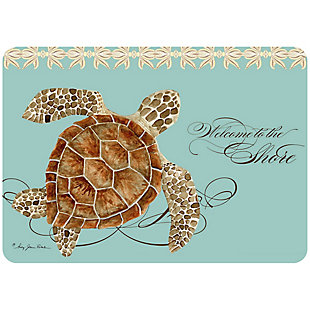 "Bungalow Premium Comfort Welcome to the Shore 22""x31"" Mat, , large"