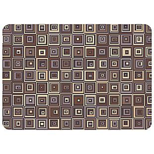 "Bungalow Premium Comfort Pebble Tile Chocolate 22""x31"" Mat, , rollover"