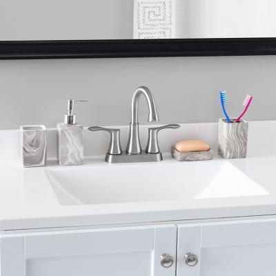 Home Accents Marble Ceramic 4 Piece Bath Accessory Set Ashley Furniture Homestore