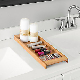 Home Accents Bamboo Vanity Tray, , rollover