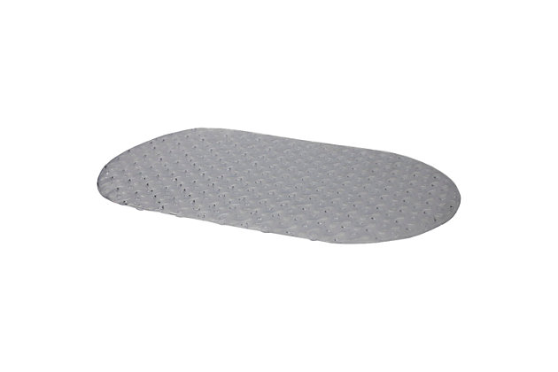 Home Accents Bayou Oval Bath Mat, , large