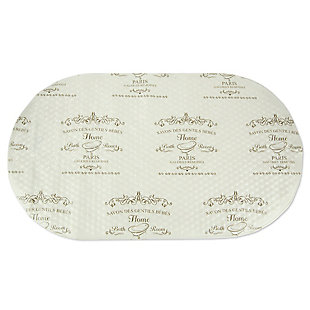 Home Accents Paris Bath Mat, , rollover