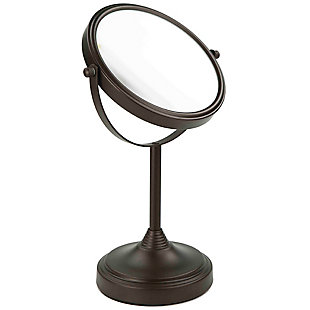 Home Accents Elizabeth Collection Double Sided Cosmetic Mirror, Bronze, large