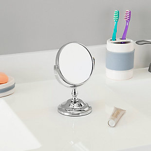 Home Accents Mini Double Sided Cosmetic Mirror, , rollover
