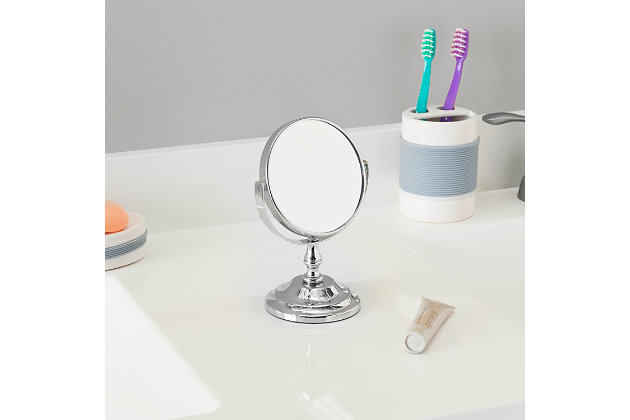 Home Accents Mini Double Sided Cosmetic Mirror, , large