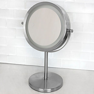Home Accents Cosmetic Mirror with LED Light, , rollover