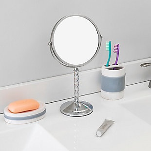 Home Accents Spiral Double Sided Cosmetic Mirror, , rollover