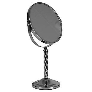 Home Accents Spiral Double Sided Cosmetic Mirror, , large