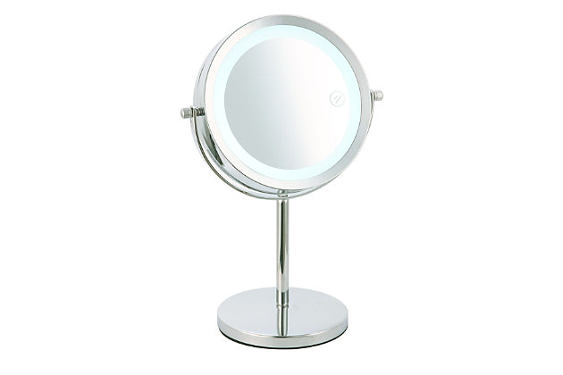 Home Accents Cosmetic Mirror with LED Light, , large