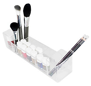 Home Accents Wide Cosmetic Organizer, , large