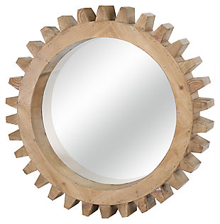 Home Accents Gear Shaped Mirror, , large