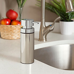 Home Accents Stainless Steel Soap Dispenser, , rollover