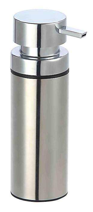 Home Accents Stainless Steel Soap Dispenser, , large