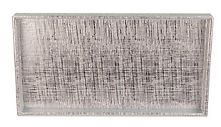 Home Accents Metallic Weave Vanity Tray, , large