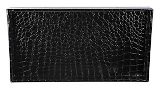 Home Accents Crocodile Plastic Vanity Tray, , large