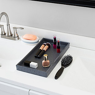 Home Accents Leather Vanity Tray, , rollover