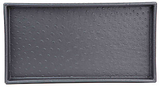 Home Accents Leather Vanity Tray, , large