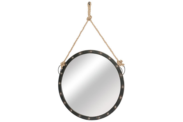 Black Home Accents Mirror by Ashley HomeStore