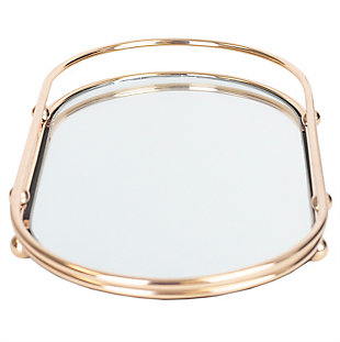 Home Accents Luxury Mirror Vanity Tray, , large
