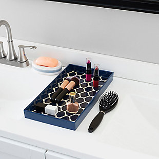 Home Accents Lattice Collection Vanity Tray, , rollover