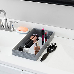 Home Accents Decorative Vanity Tray with Mirror, , rollover