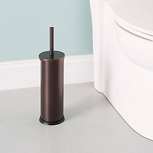 Home Accents Bronze Toilet Brush Holder, , rollover