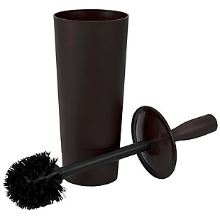 Home Accents Tapered Plastic Toilet Brush Holder, , large
