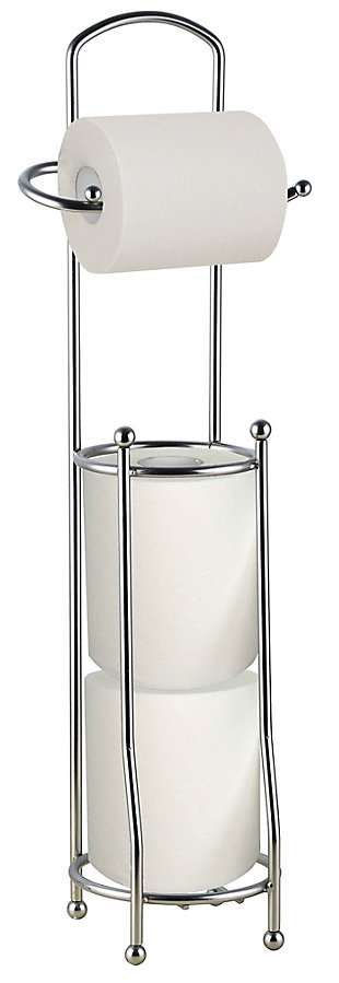 Home Accents Free-Standing Heavy Duty Sleek Dispensing Paper Towel Holder, , large