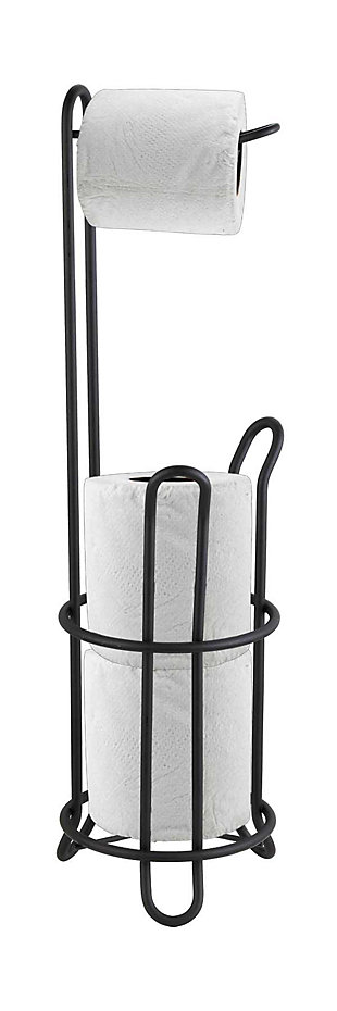 Home Accents Free-Standing Dispensing Toilet Paper Holder, , large