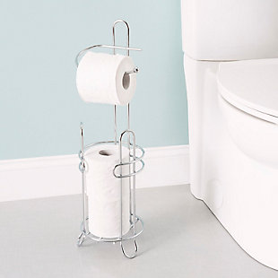 Home Accents Toilet Paper Holder and Dispenser, , rollover