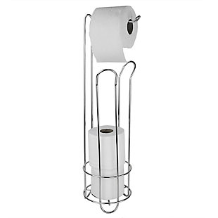 Home Accents Home Basics Free-Standing Heavy Duty Sleek Dispensing Paper Towel Holder, , large
