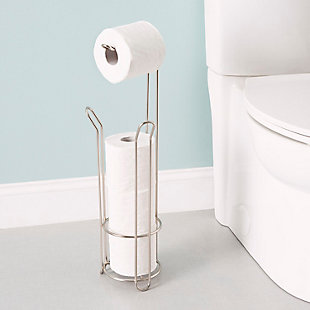 Home Accents Heavy Duty Free-Standing Dispensing Toilet Paper Holder, , rollover