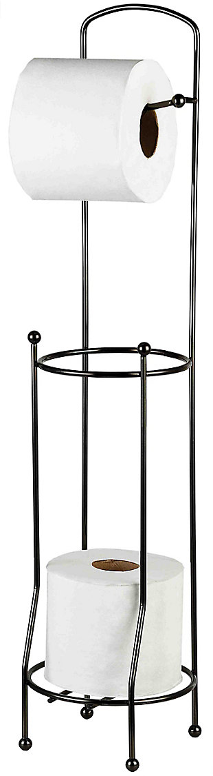 Home Accents Free-Standing Toilet Paper Holder, , large