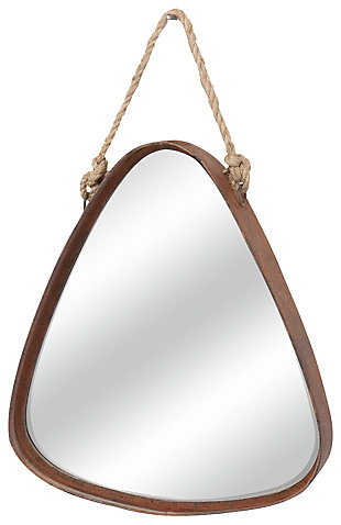 Home Accents Mirror, Silver Finish, large