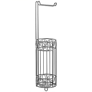 Home Accents Seville Free-Standing Dispensing Toilet Paper Holder, , large