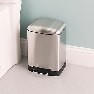 Home Accents 6 Liter Soft-Close Waste Bin, , rollover