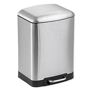 Home Accents 12 Liter Soft-Close Waste Bin, , large