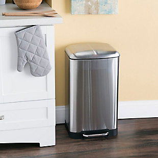 Home Accents 30 Liter Soft-Close Waste Bin, , rollover