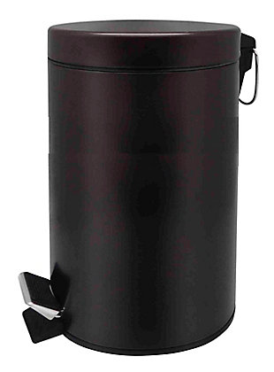 Home Accents 12 Liter Round Waste Bin, , large