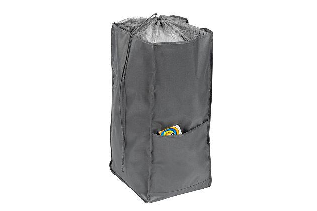 Honey-Can-Do Backpack Laundry Hamper, , large