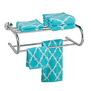 Honey-Can-Do Wall Mounted Towel Rack, , rollover