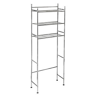Honey-Can-Do 3-Tier Over-The-Toilet Shelving Unit, , large