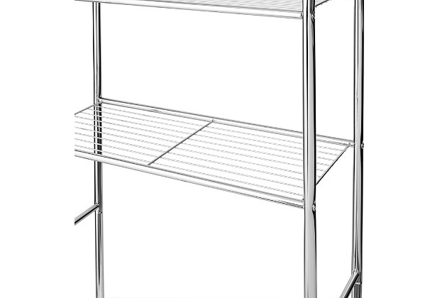 Honey-Can-Do 4-Tier Over-The-Toilet Shelving Unit, , large