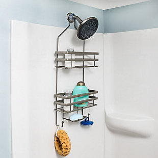 Honey-Can-Do Flat Wire Steel Shower Caddy, , rollover