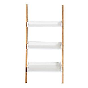 Honey-Can-Do 3-Tier Leaning Bathroom Ladder Shelf, , large