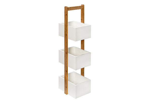 Honey-Can-Do 3-Tier Bathroom Storage Caddy, , large