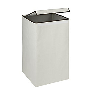 Honey-Can-Do Square Collapsible Laundry Hamper with Lid, , large